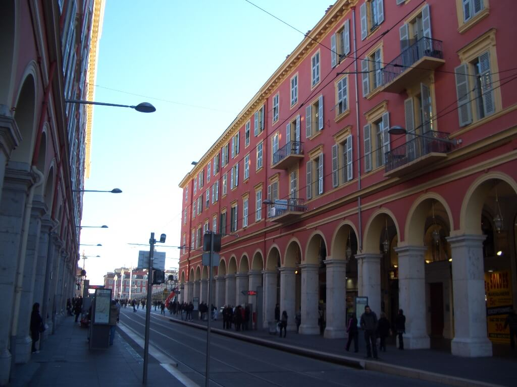 Nice Centre, Avenue Jean Médecin, Avenue Foch, Rue Lépante, Gare Sncf, Notre Dame, Dubouchage, Carabacel