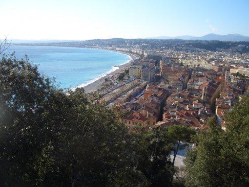 Vieux Nice, le Cours Saleya, la Place Rosseti, le Quai des Etats-unis, la Place Saint François